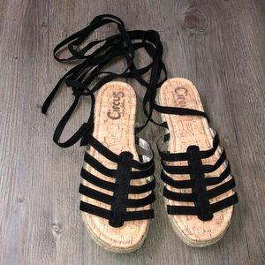 Sam Edelman Circus Ankle Wrap Sandal